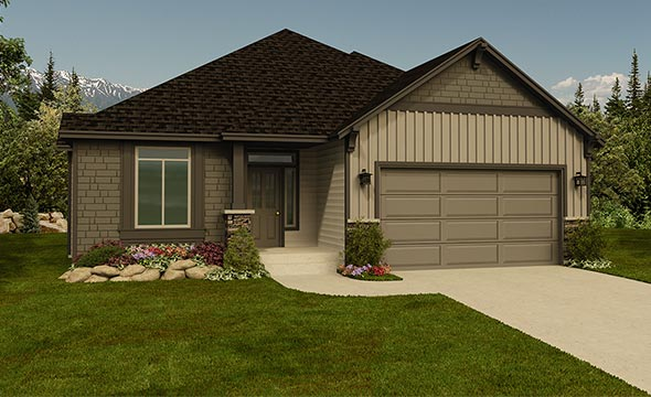 Home Plan Designs - Zetterberg Custom Homes Rambler House Plans With Tandem Garage on colonial house plans with garage, split level house plans with garage, ranch house plans with garage, split entry house plans with garage,