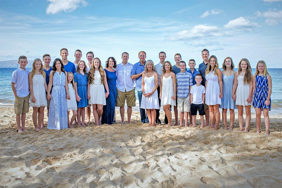 Zetterberg Family Photo